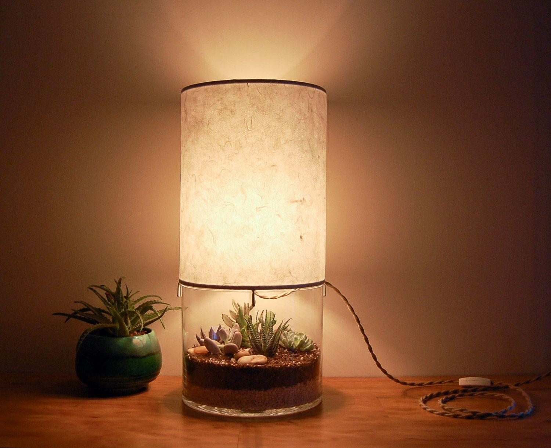 Large Round Vessel Lamp Lamp Table Lamp Geometric Table Lamp
