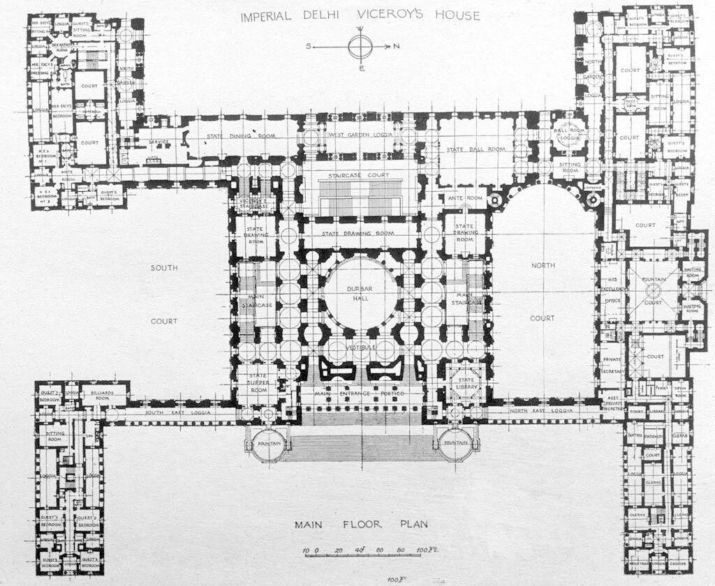 Rashtrapati Bhavan Principal Floor How To Plan Castle