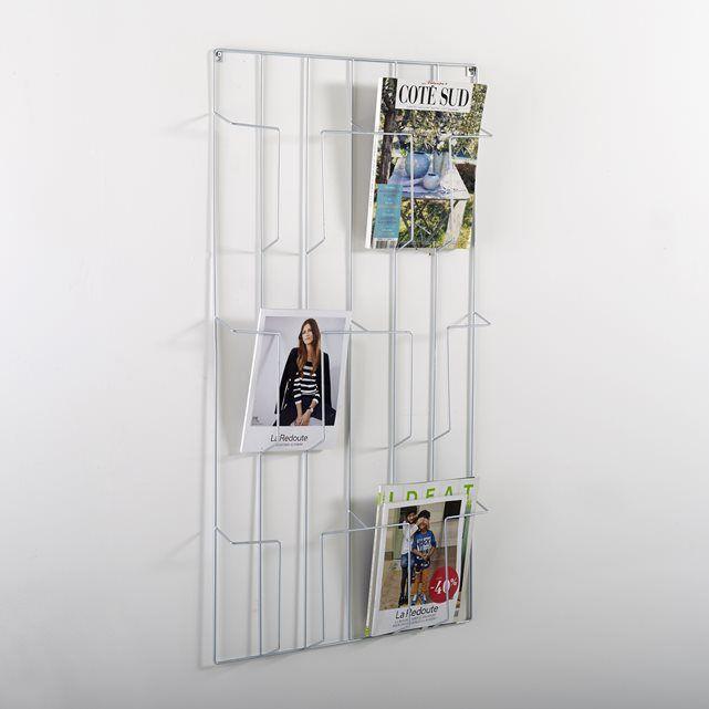 magazinehouder om aan de muur te hangen niouz la redoute. Black Bedroom Furniture Sets. Home Design Ideas