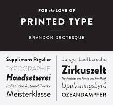 Brandon font - Google Search | Brandon | Typography fonts, Brandon