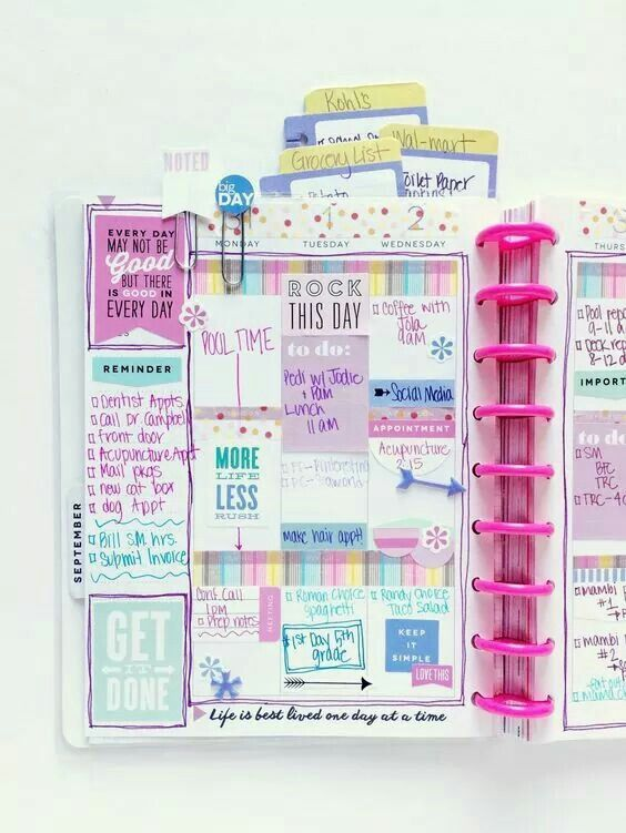 Agenda Planner Pinterest Planners, Happy planner and Planner - how to create a agenda