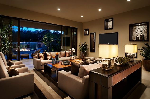 Fabulous-Contemporary-Living-Room-Furniture-with-Grey-Sofas-Completed-with-Rectangular-Coffee-Table-and-Sleek-Side-Table-for-Display : Inspirational Interior and Exterior Home Design Ideas – TheMakaroni.com