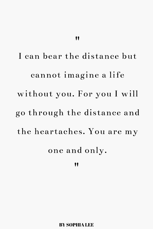 35 Long Distance Relationship Quotes Every Couple NEEDS To Read - By Sophia Lee
