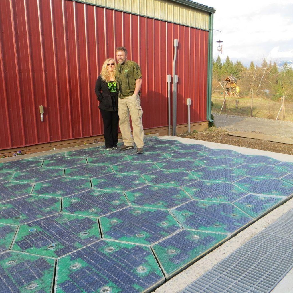 Solar panel floor tiles httpnextsoft21 pinterest solar panel floor tiles dailygadgetfo Images