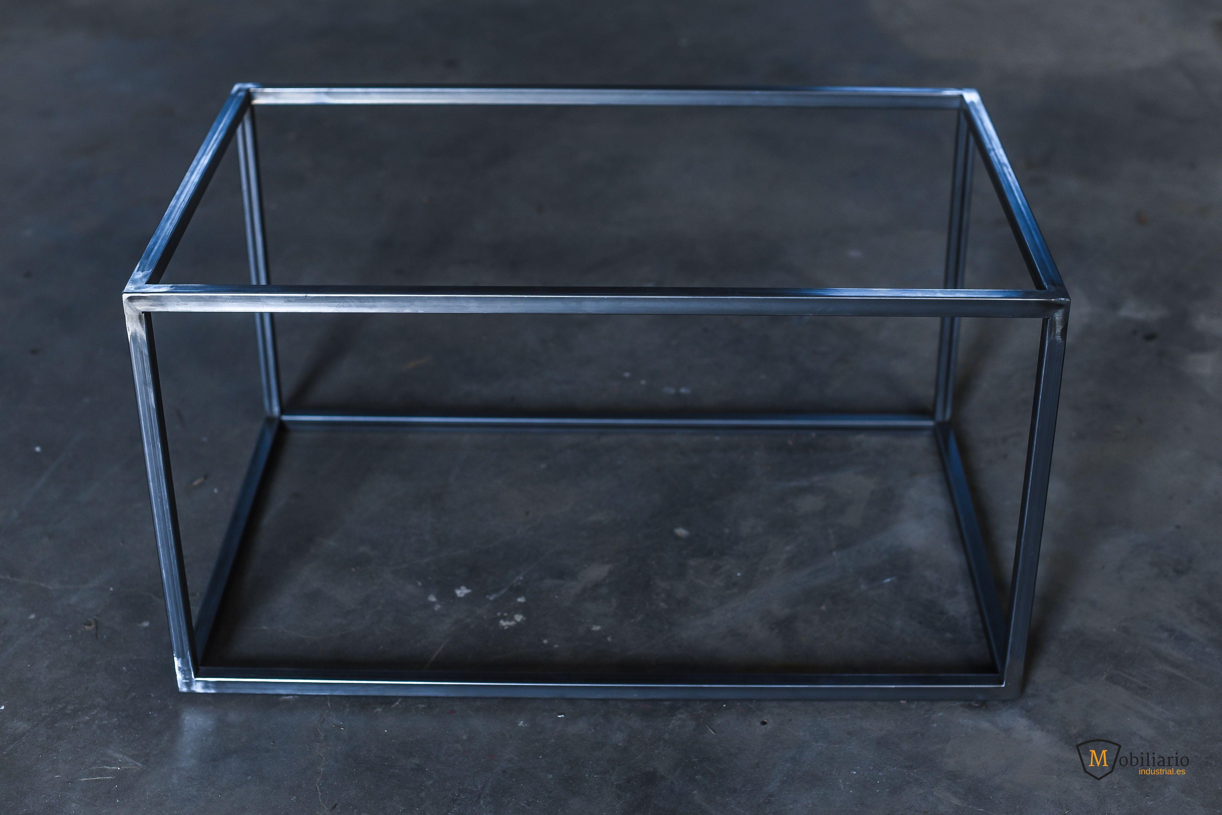 Estructura Metálica Para Mesa Baja Patas Para Muebles
