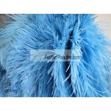 Sky Blue Baby Blue Sky Blue Ostrich Feathers Wholesale Bulk Discount Cheap 10 12 Inch 12 Pieces Wedding Centerpieces And C Ostrich Feather Centerpieces Feather Centerpieces Eiffel Tower Vases