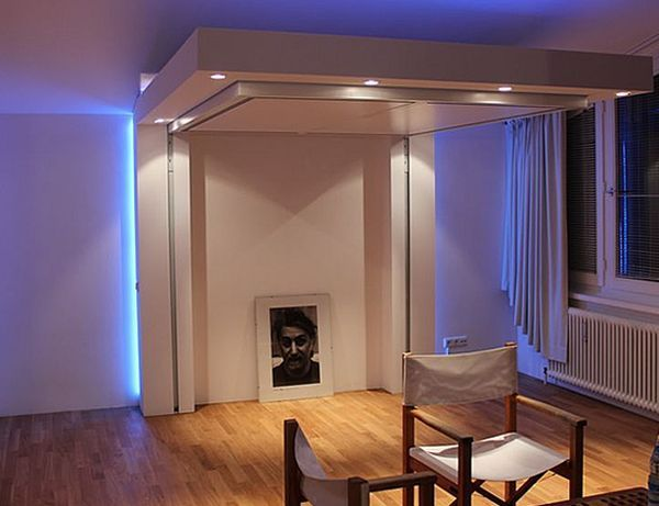 5 Best Retractable Ceiling Beds One Room Twice The Space