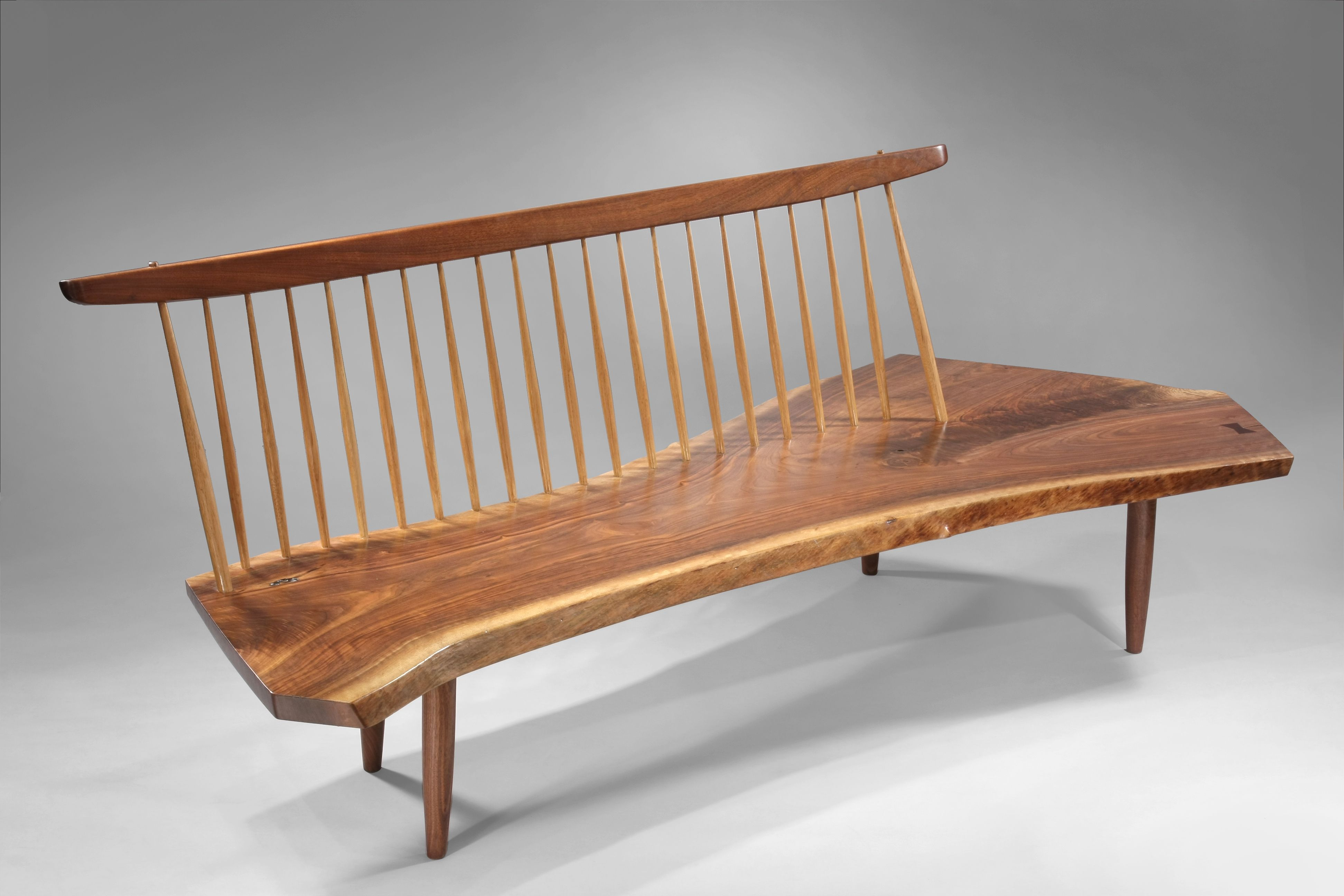 George Nakashima Bench George Pinterest George