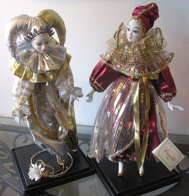 vintage harlequin dolls | Recent Photos The Commons Getty Collection Galleries World Map App ...