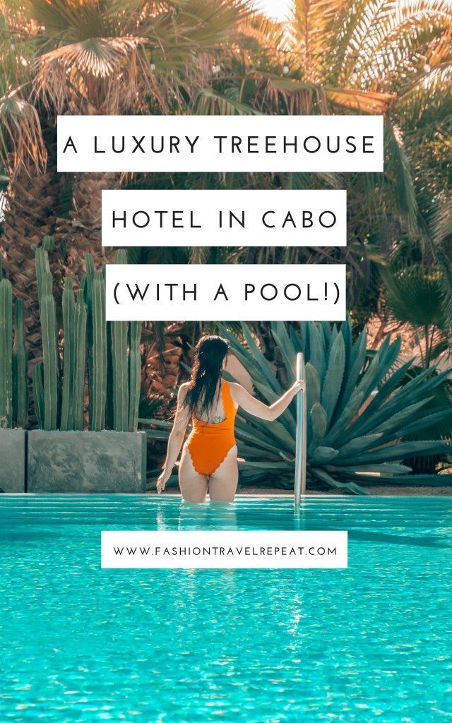 Acre Baja - Staying in a luxury treehouse hotel in Cabo Mexico #treehouse #luxurytreehouse #treehousehotel #luxuryhotel #cabo #mexico #sanjosedelcabo #designhotel