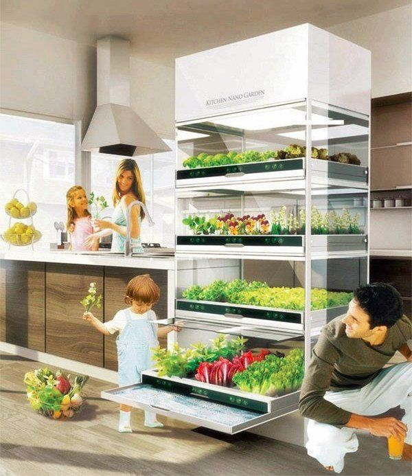 indoor hydroponic systems nano garden herb garden ideas indoor