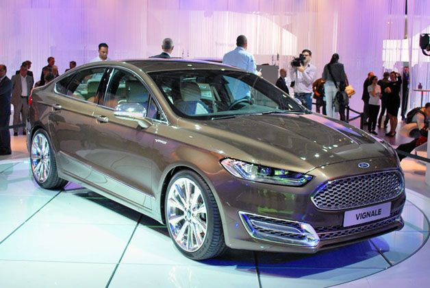 Ford Mondeo Classes Up With Premium Vignale Trim Ford Mondeo