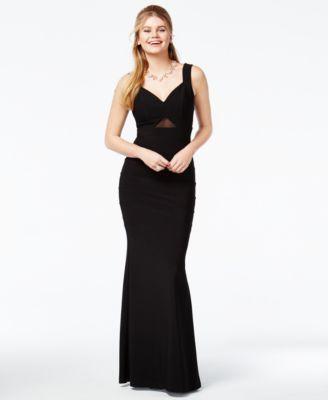 60824bfa6 Emerald Sundae Juniors' Illusion Sweetheart Gown | macys.com | 15 ...