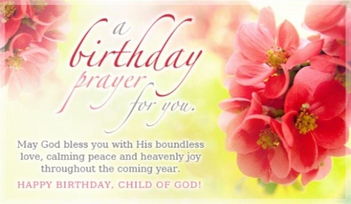 Birthday Prayers Beautiful and Inspiring Blessings