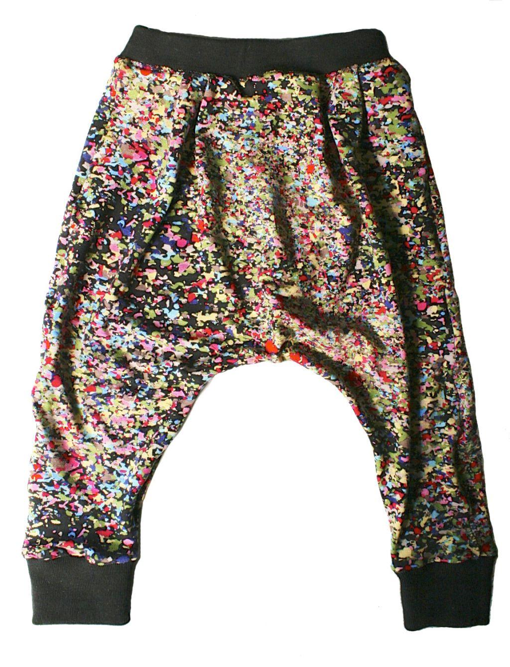 Harem pants pattern | Schnittmuster kinder, Schnittmuster und Kind