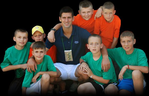 Novak S Fondation Novak Djokovic Tennis Champion Cute Kids