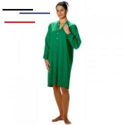 tweenclothes  hemd für pflegebedürftige menschen mit langen Ärmeln rückenschlitz und kragen