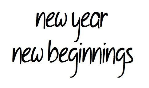New Year New Beginning Quotes | beginnings #black and white #new ...
