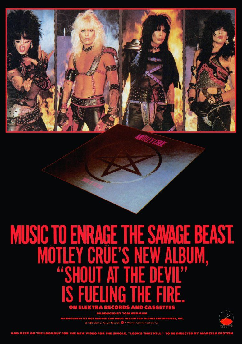 Pin On Motley Crue Custom And Reproduction Posters Available Now