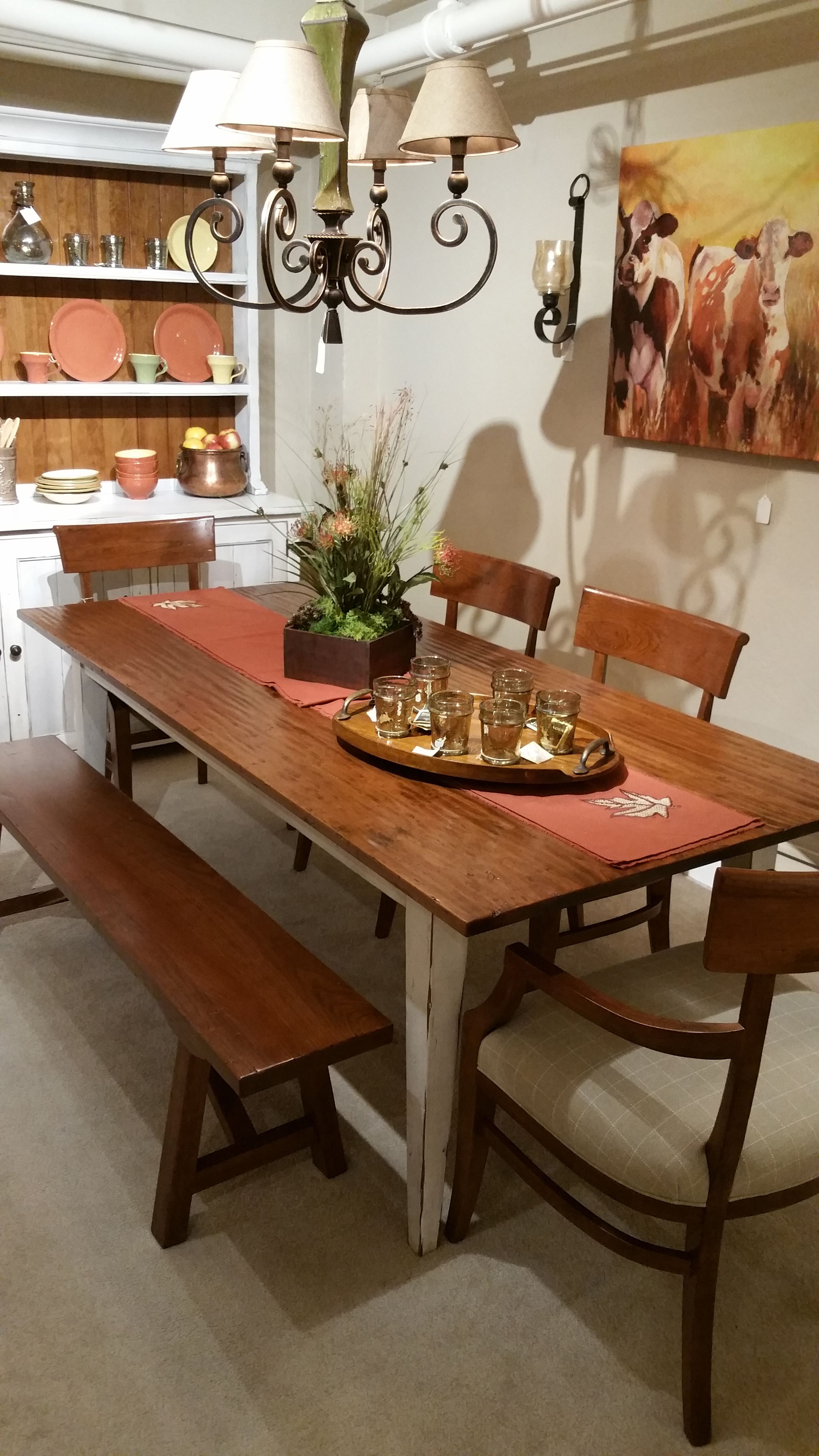 Stickley Cherry Hill Farm Table
