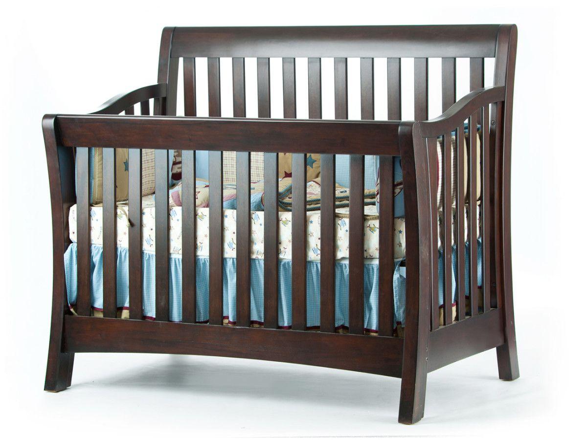 Urban Lifetime Convertible Crib In Espresso By Munire Baby Room Furniture Nebraska Furniture Mart Furniture