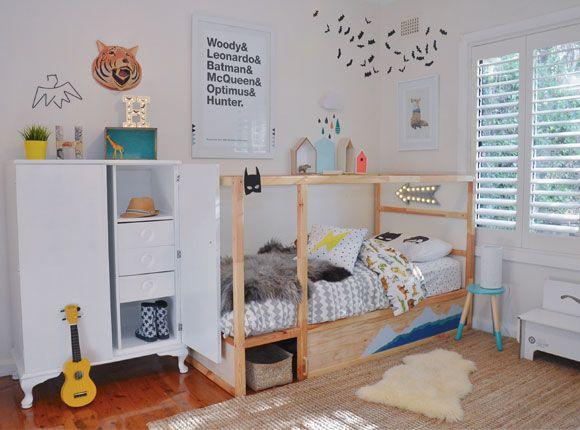 Slaapkamer Pimpen Ikea : Inspiratie om het ikea kura bed zelf te pimpen