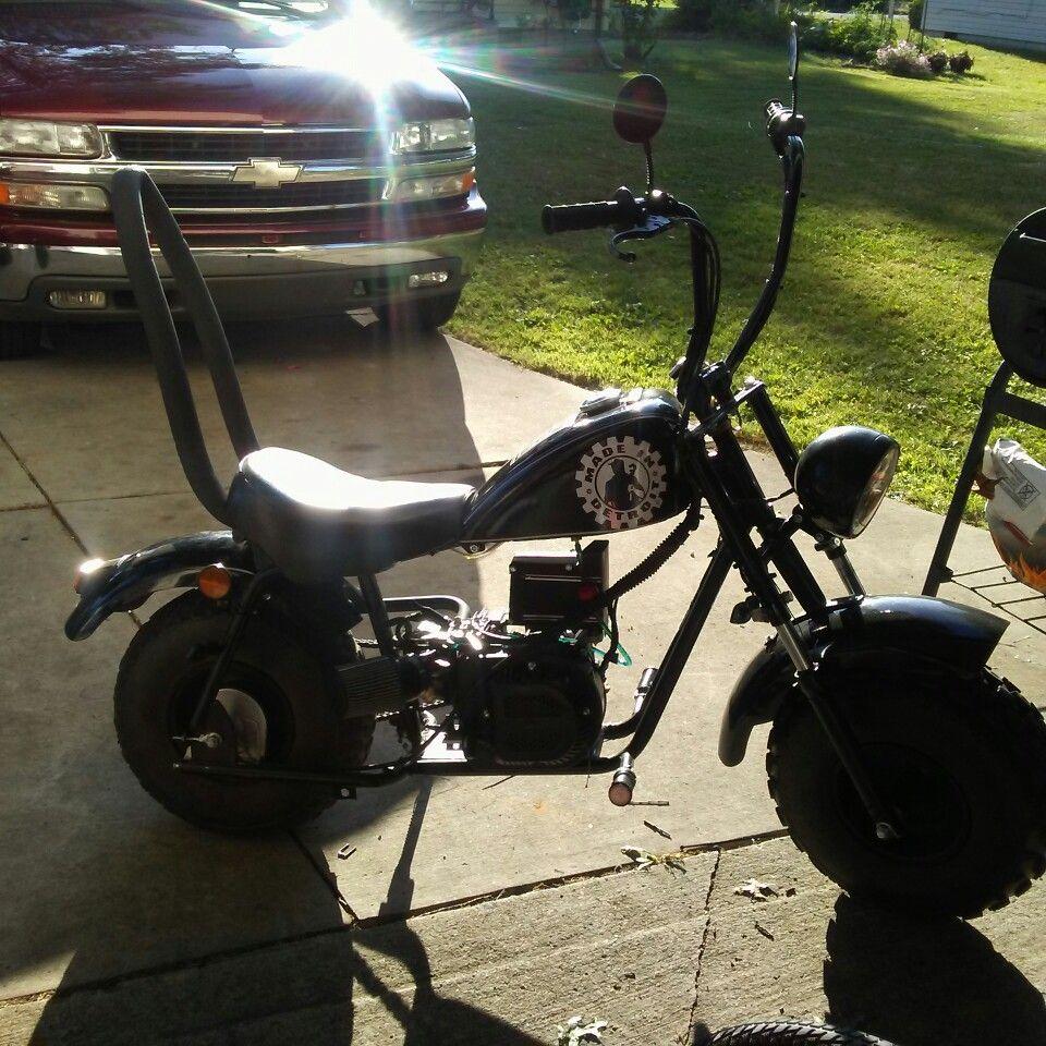 Baja Warrior Mini Bike Engine Swap : Ash Cycles