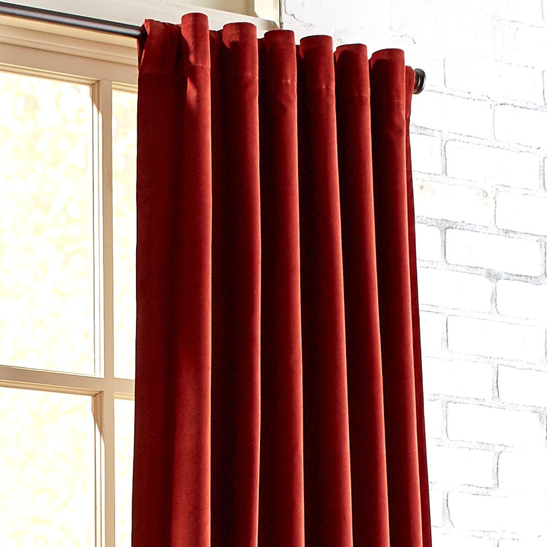 Sheridan Velvet Clay 84 Curtain Velvet Curtains Living Room