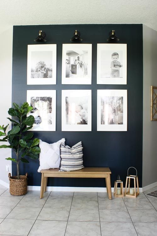 The Paint Colors Used In Our Home With Images Accent Walls In