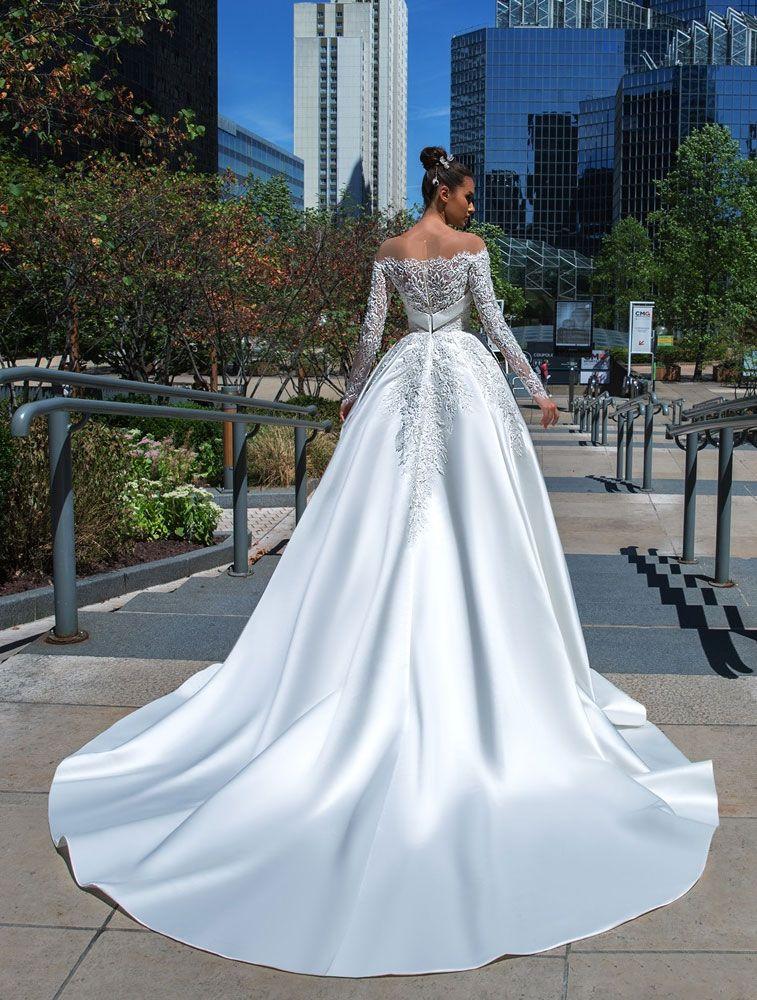 Crystal Design Couture 2019 Wedding Dresses - Paris Collection 2019 Bridal Collection Bridal Wedding Dresses #weddingdress #weddinggown #weddingdresses #bridalgown