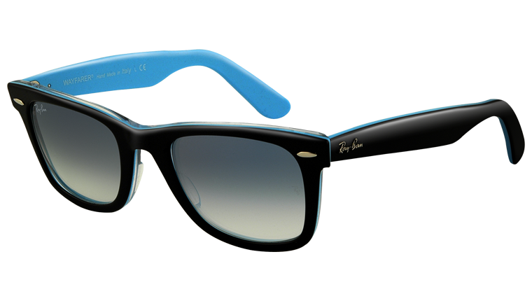 Black × Light blue wayfarer.........YES!!!!!