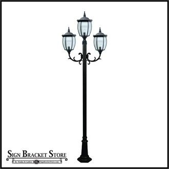 Love This Victorian Style Street Light Lampposts Can Be Installed In Front Yards To Add Curb Appeal Outdoor Lamp Posts Lamp Post Outdoor Lamp