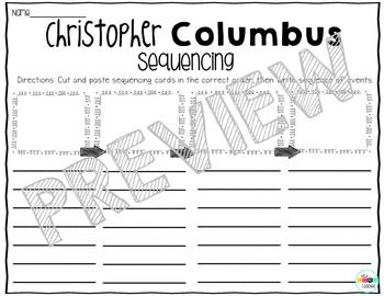 Christopher Columbus Close Read and Interactive Drama Grades 1-3