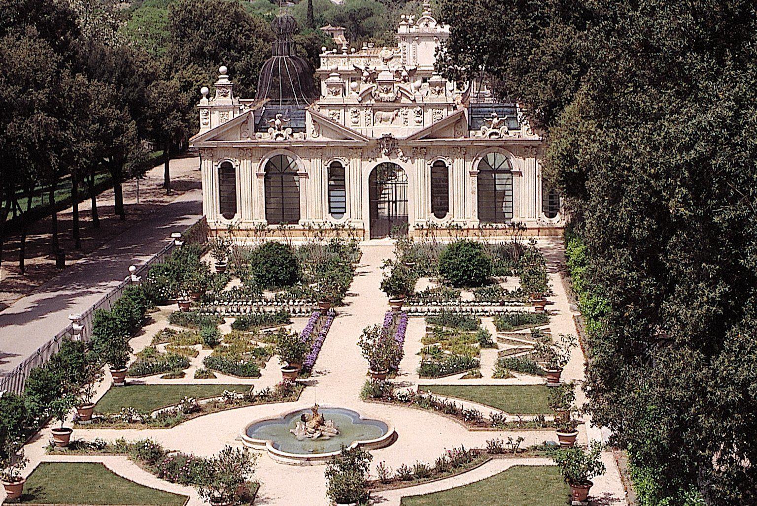 Barberini Gardens Of The Pontifical Villas