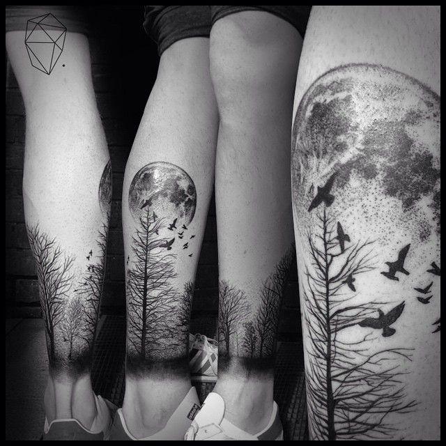 Pin De M Paloma R G En Tatuajes E Ideas Tatuajes Forestales