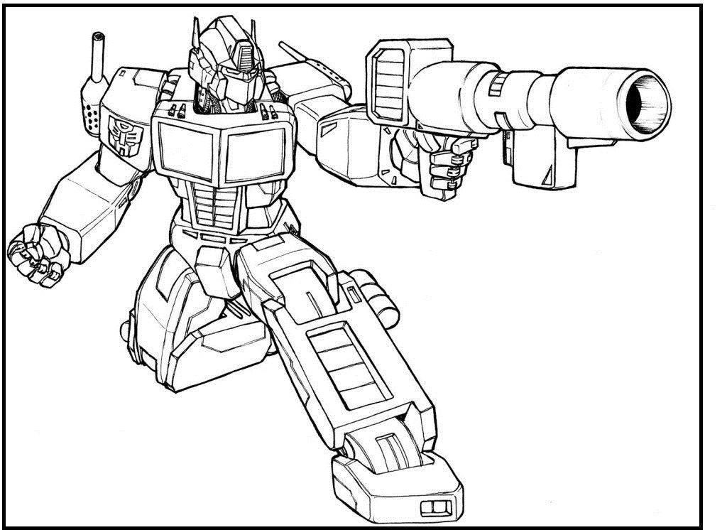 optimus prime transformers coloring pages for kids printable transformers coloring pages for kids