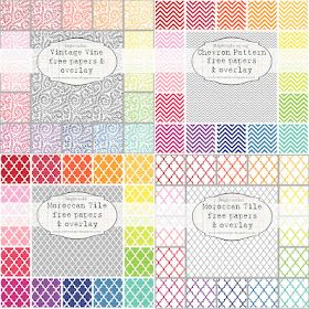Free patterned papers