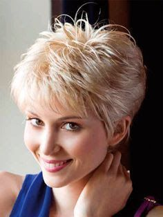 Image Result For Short Feathered Hair Cuts For Women With