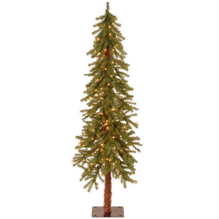 Co NATIONAL TREE National Tree 5 Foot Hickory Cedar Cedar Pre-Lit