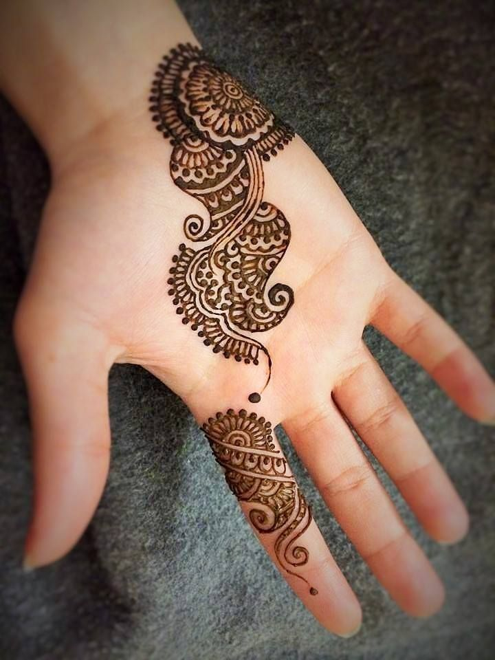 Mehndi Design Line Art : Cute single line design mehendi pinterest