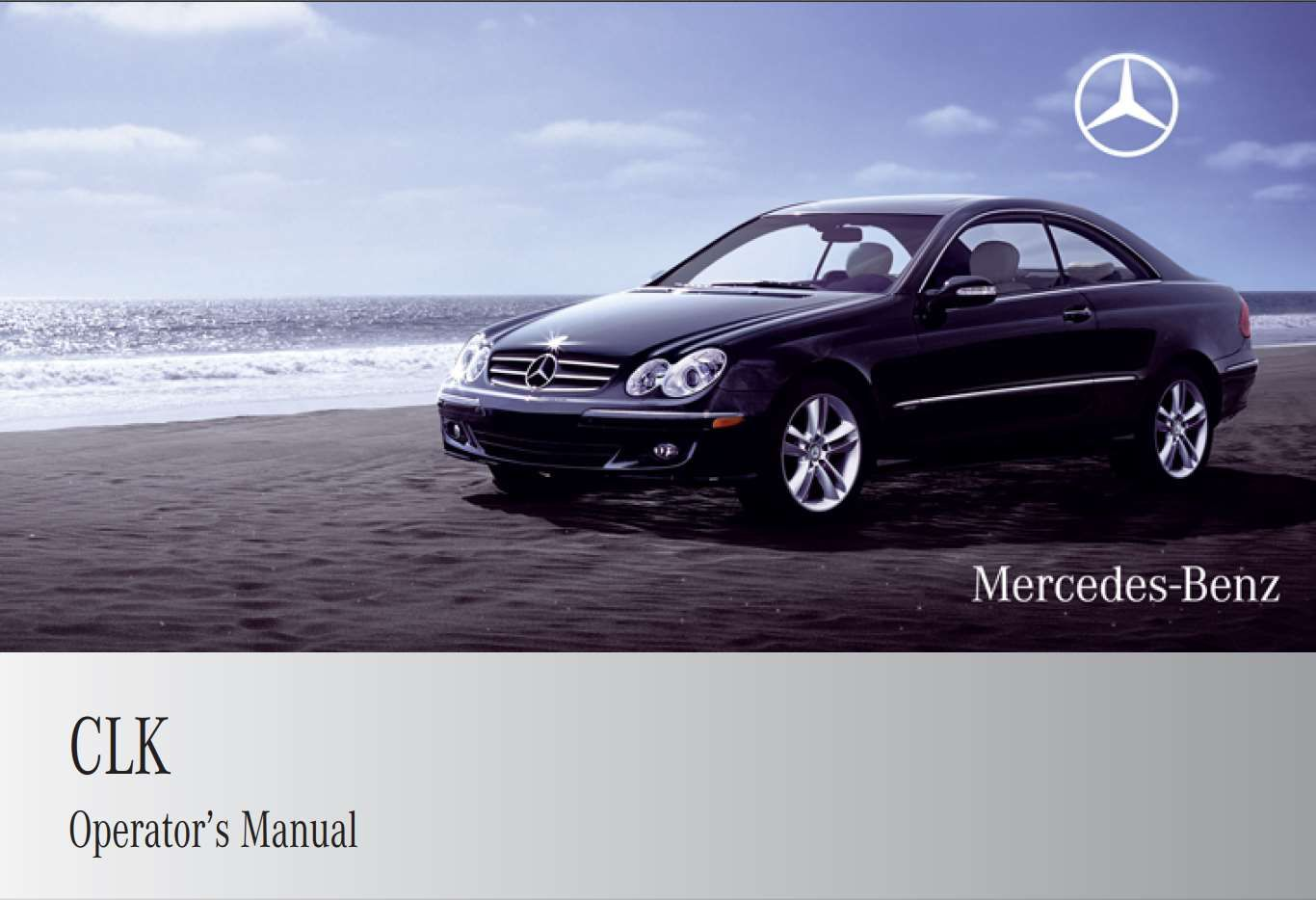Mercedes Benz Clk Class Coupe 2009 Owner S Manual Has Been Published On Procarmanuals Com Https Procarmanuals Com Mercedes Benz C Mercedes Benz Benz Mercedes