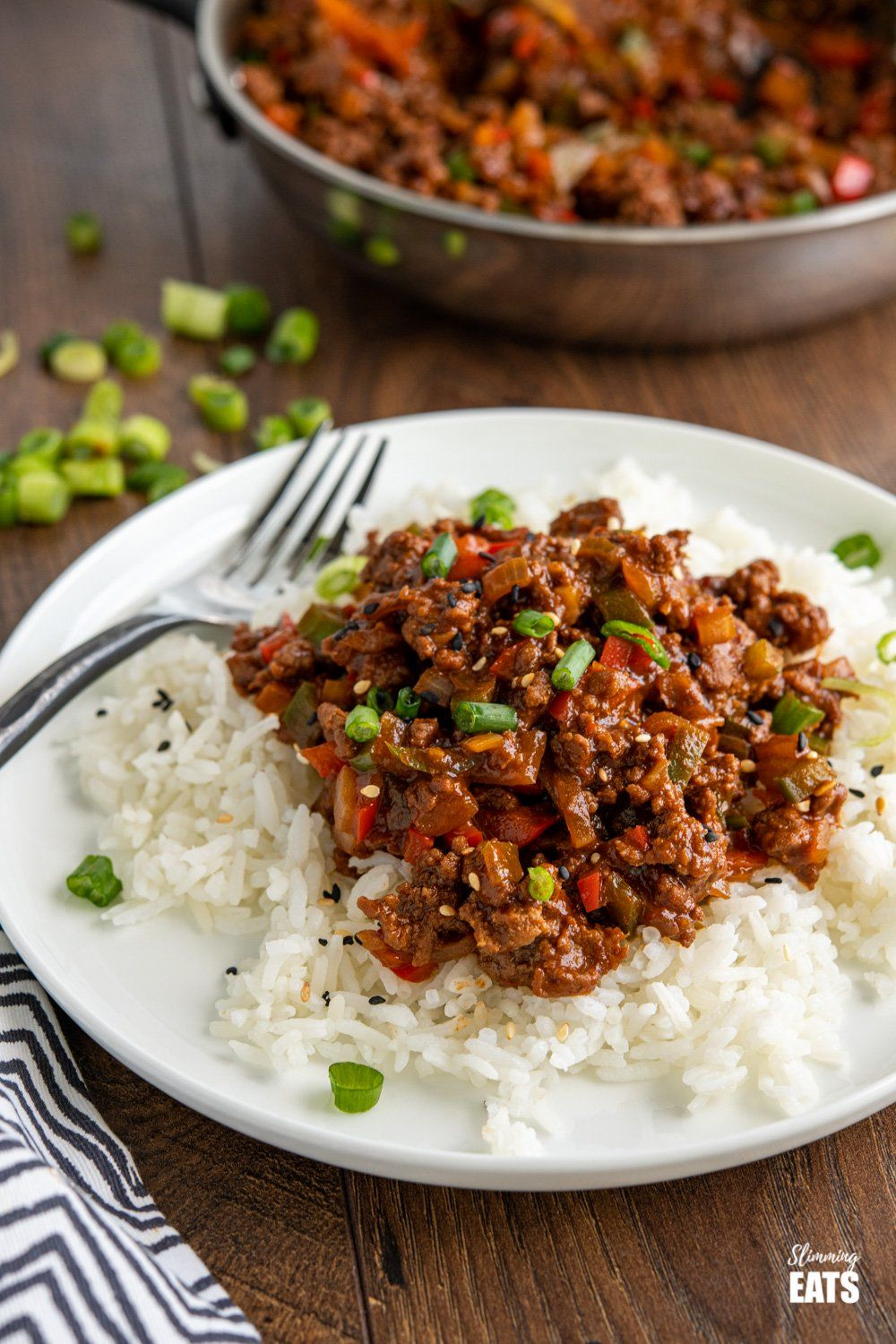 Easy Asian Ground Beef Bowl - ready in less than 30 ...