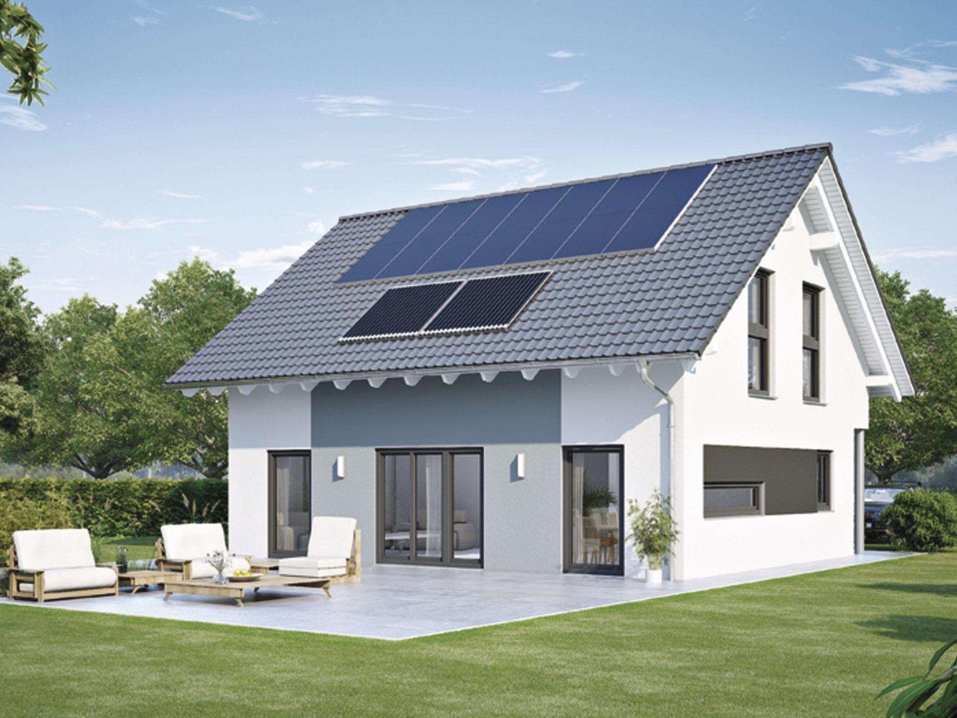 Generation 5.0   Haus 100 Mit Satteldach U2022 Ausbauhaus Von WeberHaus U2022  Fertighaus Mit Freiräumen Für