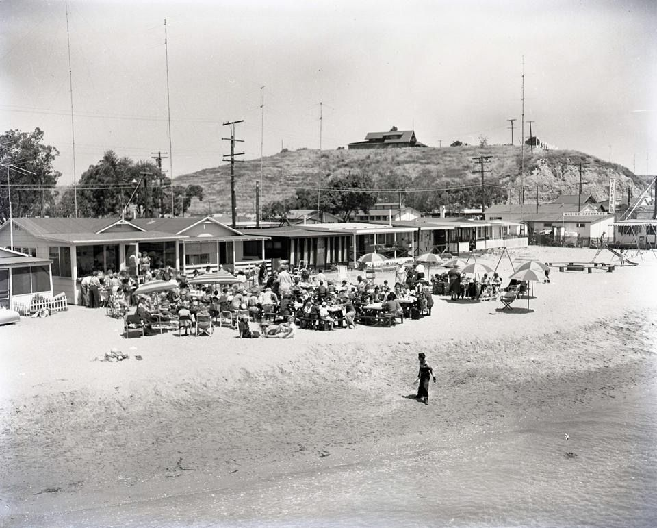 Bayshores Camp 1940 S Newport Beach Camping World San Luis Obispo County Newport Beach