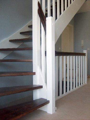 offene holztreppe  gewendelt treppe pinterest
