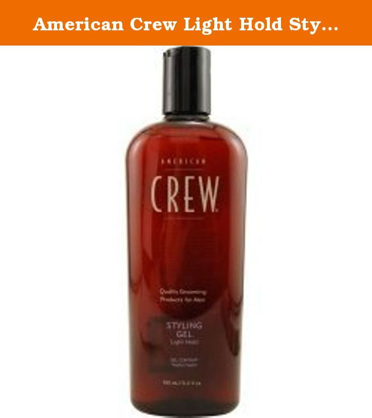 American Crew Light Hold Styling Gel 15 2oz Get The Look And Style You Want With 2 Oz Creates Extra Volume