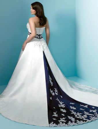 Wedding Dress White Lace Wedding Dress Blue Wedding Dresses