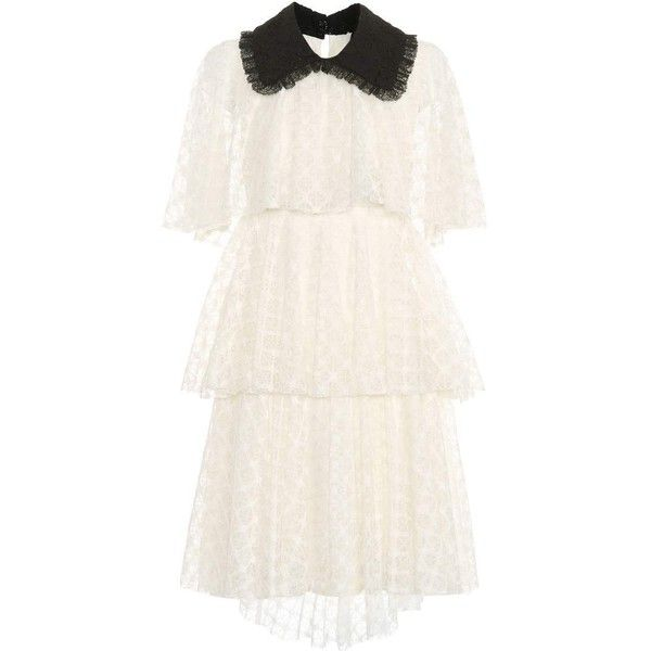 tiered dress - White Philosophy di Lorenzo Serafini wJh3y5EwEG