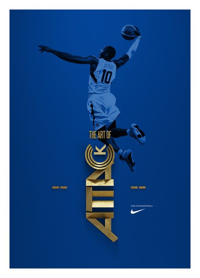 Nike - Art of Attack Sports Graphic Design c0cfb181992