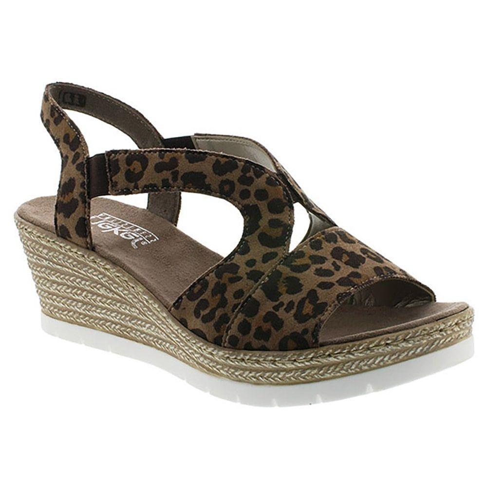 Womens open toe wedge platform sandals